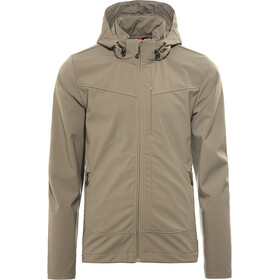 axant Alps Softshell Jas Heren, teak